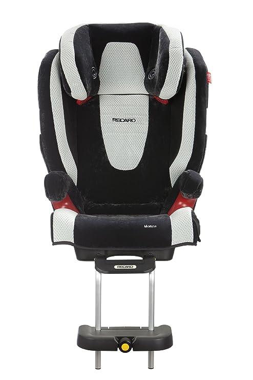 Recaro 614900010 - Reposapiés para Monza Nova Seatfix (Grupo 2/3, color negro