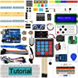 Freenove RFID Starter Kit V2.0 with Board V4 (Compatible with Arduino IDE) (Blue Board), 266 Pages Detailed Tutorial, 198 Items, 49 Projects, Learn Programming and Electronics