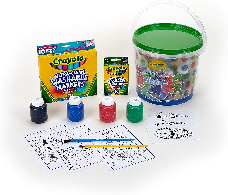 CRAYOLA – Cubo de Creatividad, Multicolor, 22.09 X 20,32 X 17.52 cm