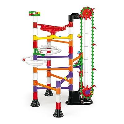 Quercetti 6576 Juguete de construcción - Juguetes de construcción (Circuito de canicas,, 5 año(s), 150 Pieza(s), Niño/niña, Niños): Juguetes y juegos