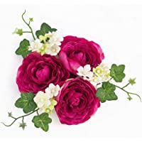 artplants.de Set de 3 x aro Floral