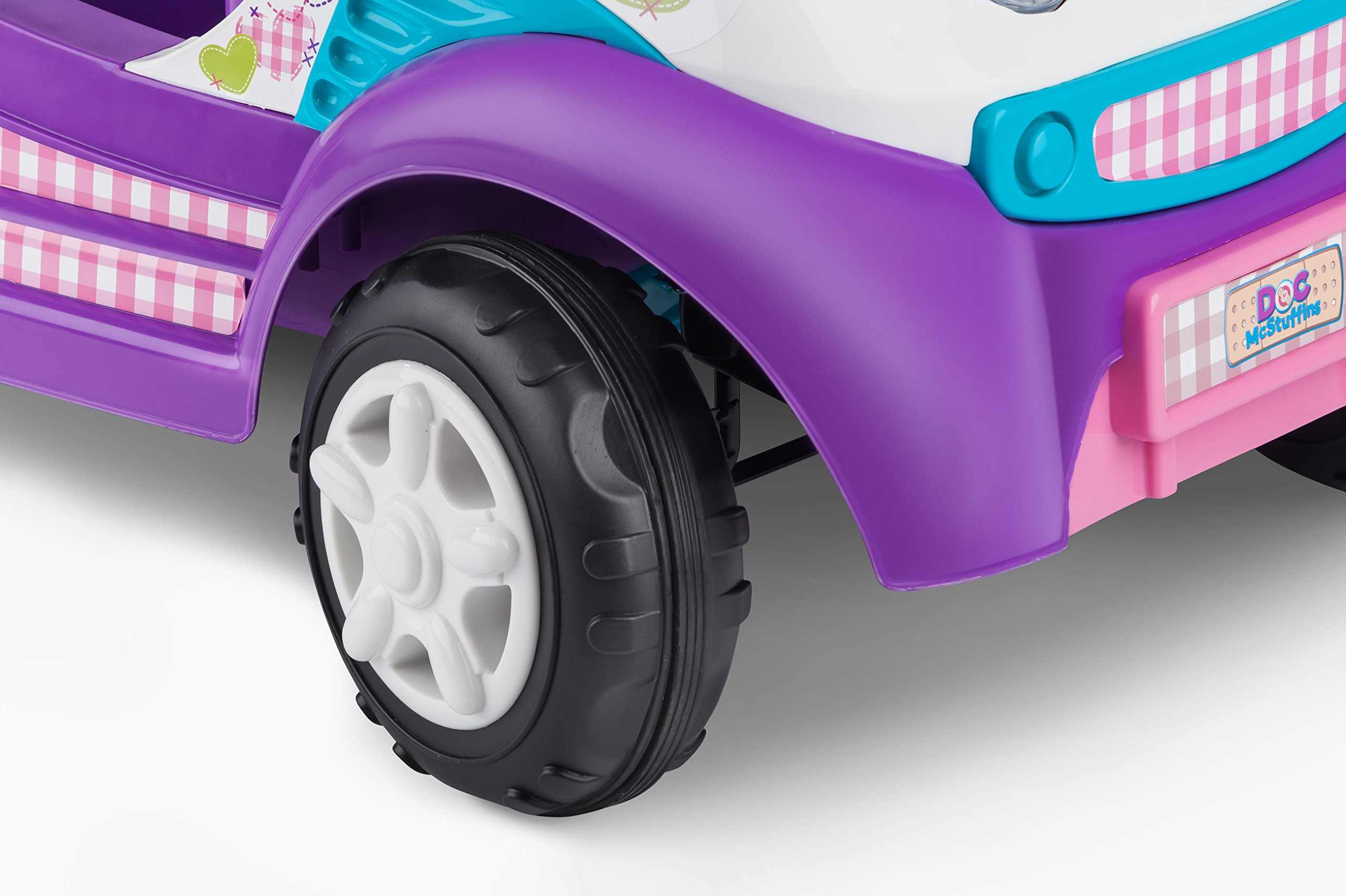 Kid Trax Doc McStuffins 6V Ambulance Ride On by Kid Trax (Image #6)