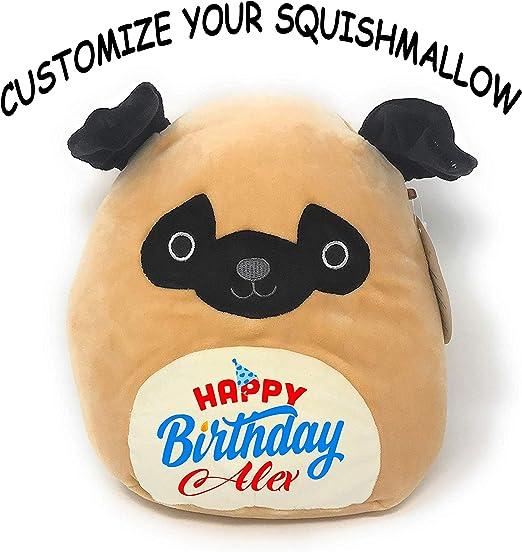 Amazon.com: Squishmallow personalizado feliz cumpleaños ...