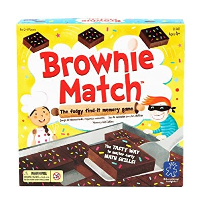 Educational Insights Brownie Match Game: Toys & Games