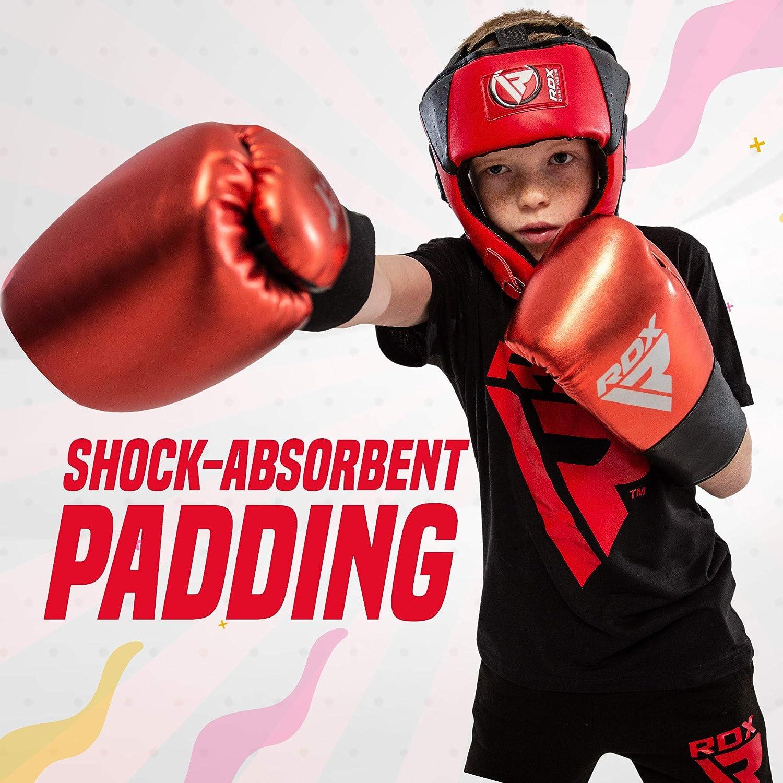 CE Certifi/é Approuv/é RDX Enfant Casque De Boxe MMA Protection T/ête Muay Thai Entra/înement Arts Martiaux