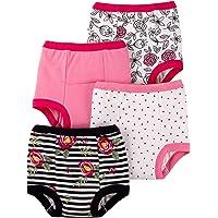Lamaze Organic Baby Baby Girls' Organic 4 Pack Training Pants