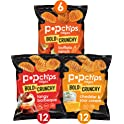 30-Pack Popchips Ridges Potato Chips Variety Pack Single Serve 0.8 oz Bags