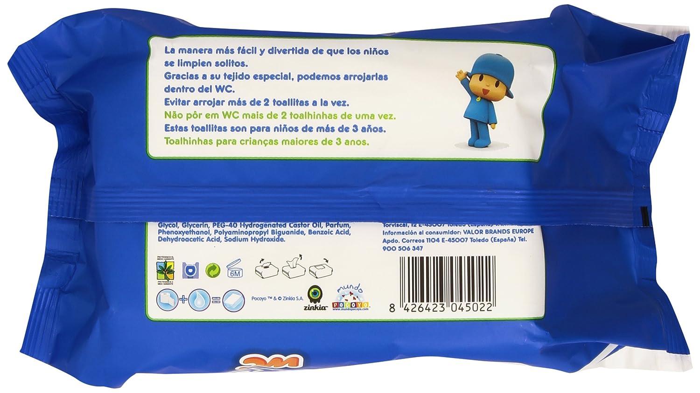 Moltex - WC - Toallitas para bebé, diseño Pocoyó - 120 unidades: Amazon.es: Salud y cuidado personal