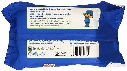 Moltex WC - Toallitas para bebé, diseño Pocoyó, 120 unidades: Amazon.es: Amazon Pantry