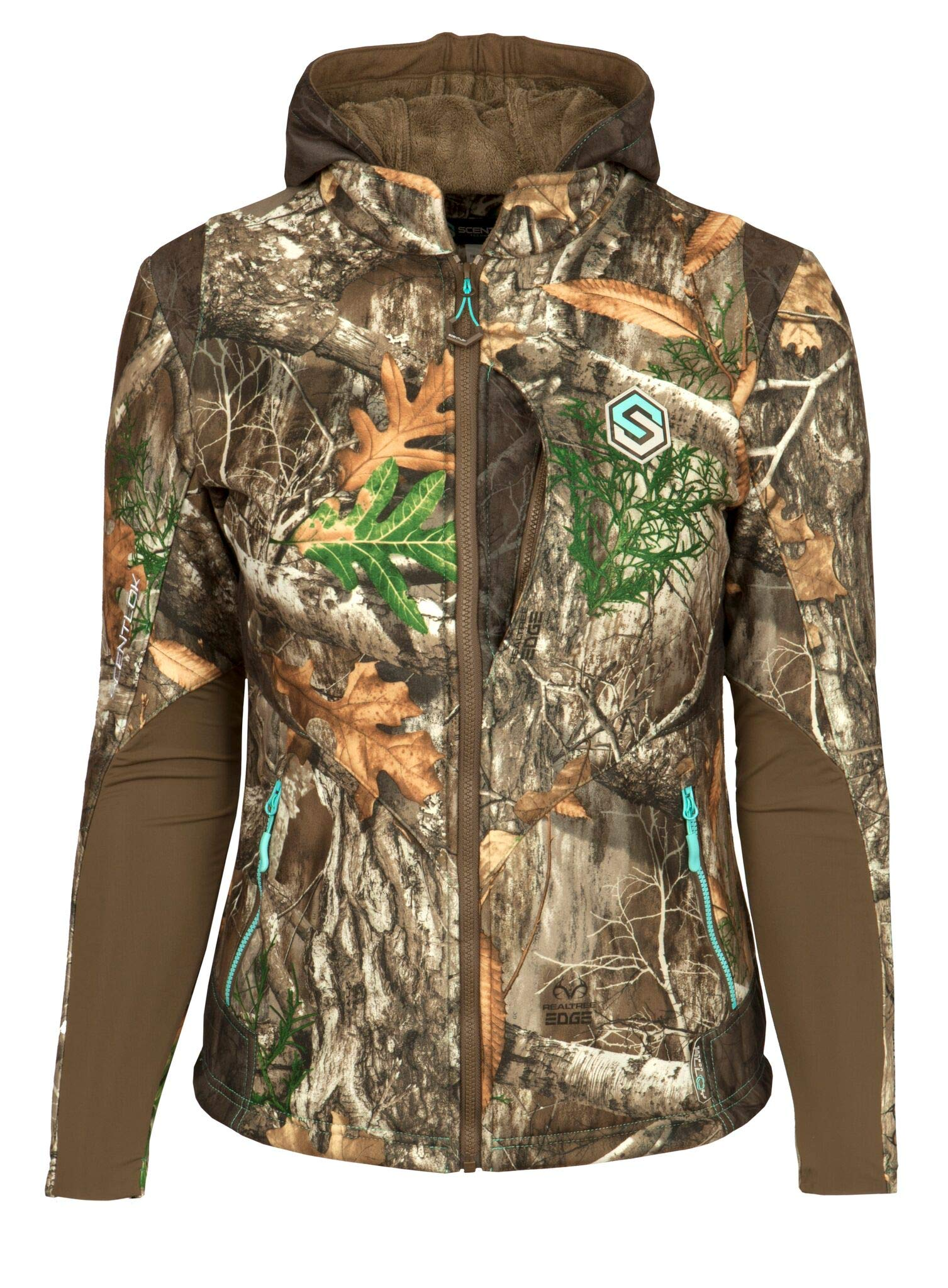 ScentLok Women's Full Season TAKTIX Hunting Jacket, Realtree Edge, M by ScentLok