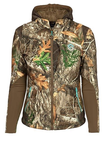0711379f3663e ScentLok Women's Full Season TAKTIX Hunting Jacket (Realtree Edge, X-Small)