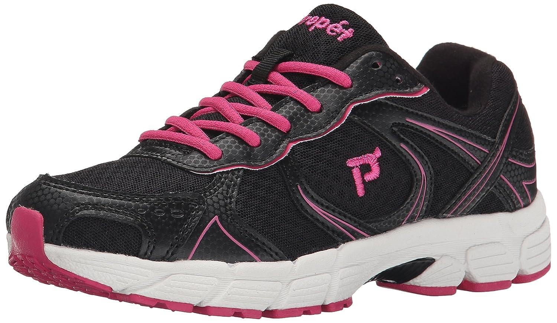 Propet Women's XV550 Walking Shoe B00T9Y1V9M 8 N US|Black/Pink
