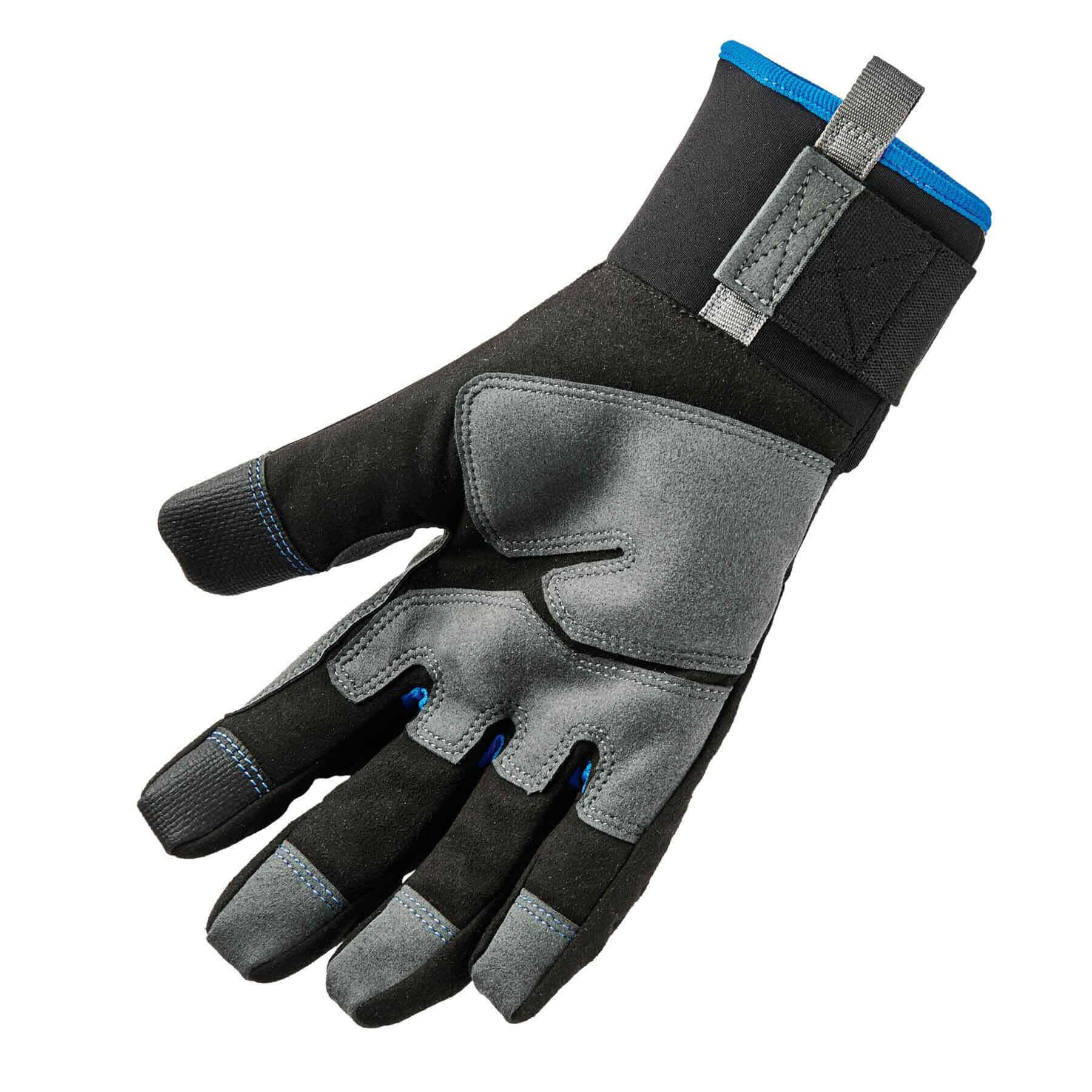 Ergodyne ProFlex 817WP Reinforced Thermal Waterproof Insulated Work Gloves, Touchscreen Capable, Black, Large by Ergodyne (Image #2)