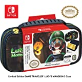 Officially Licensed Nintendo Switch Luigi's Mansion 3 Lite Carrying Case - Hard Shell Travel Case with Adjustable Viewing Sta