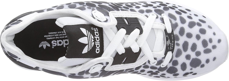 adidas Originals Zx Flux, Baskets mode femme Blanc