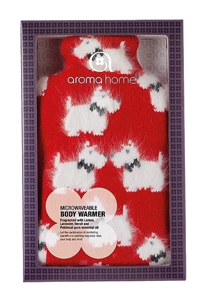 Aroma Home - Bolsa caliente para microondas (funda extraíble de ...