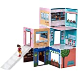 Wonderhood Corner Shops - Customizable Design, Building and Play Set - Best Gift for Creativity, Learning and Fun