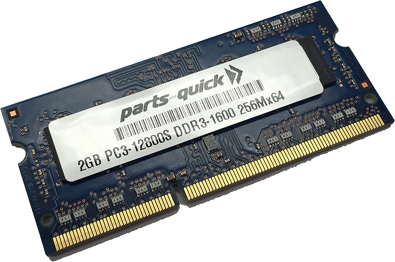 2GB Memory for Dell Inspiron One 2330 DDR3 PC3-12800 SODIMM RAM (PARTS-QUICK Brand)