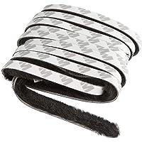 Windhager 03787 Afdichtingsborstel, afdichtband, kleefborstel, voor rolgordijnramen en rolgordijndeuren, zelfklevend…