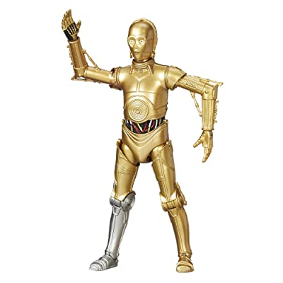Star Wars 2016 The Black Series C-3PO Exclusive Action Figure (Silver Right Leg) 6 Inches: Hasbro: Toys & Games