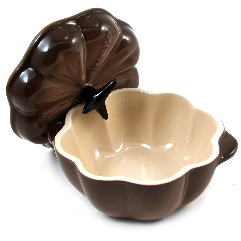 Amazon.com: Le Creuset Stoneware Petite calabaza olla, 12 ...