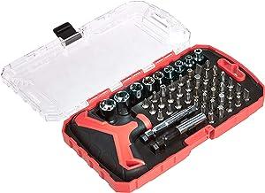 AmazonBasics 51-Piece Precision Nut and Screwdriver Set