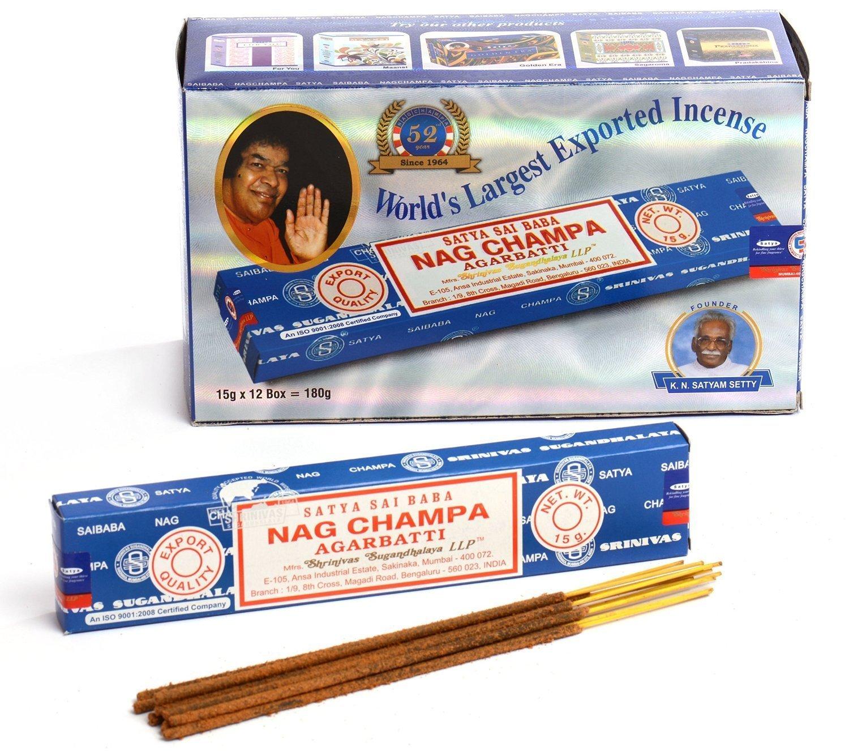 Mix AGARBATTI Sticks 12 Different Fragrance Each of 15 Gram Total 180 gm
