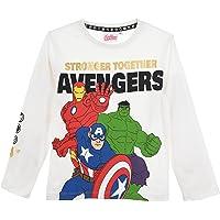 Avengers Niños Camiseta de Manga Larga