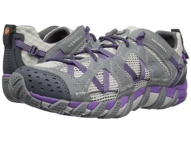 [MERRELL(メレル)] レディースウォーキングシューズスニーカー靴 Waterpro Maipo B07HVZZ11W 27.5 cm|Grey/Royal Lilac Grey/Royal Lilac 27.5 cm