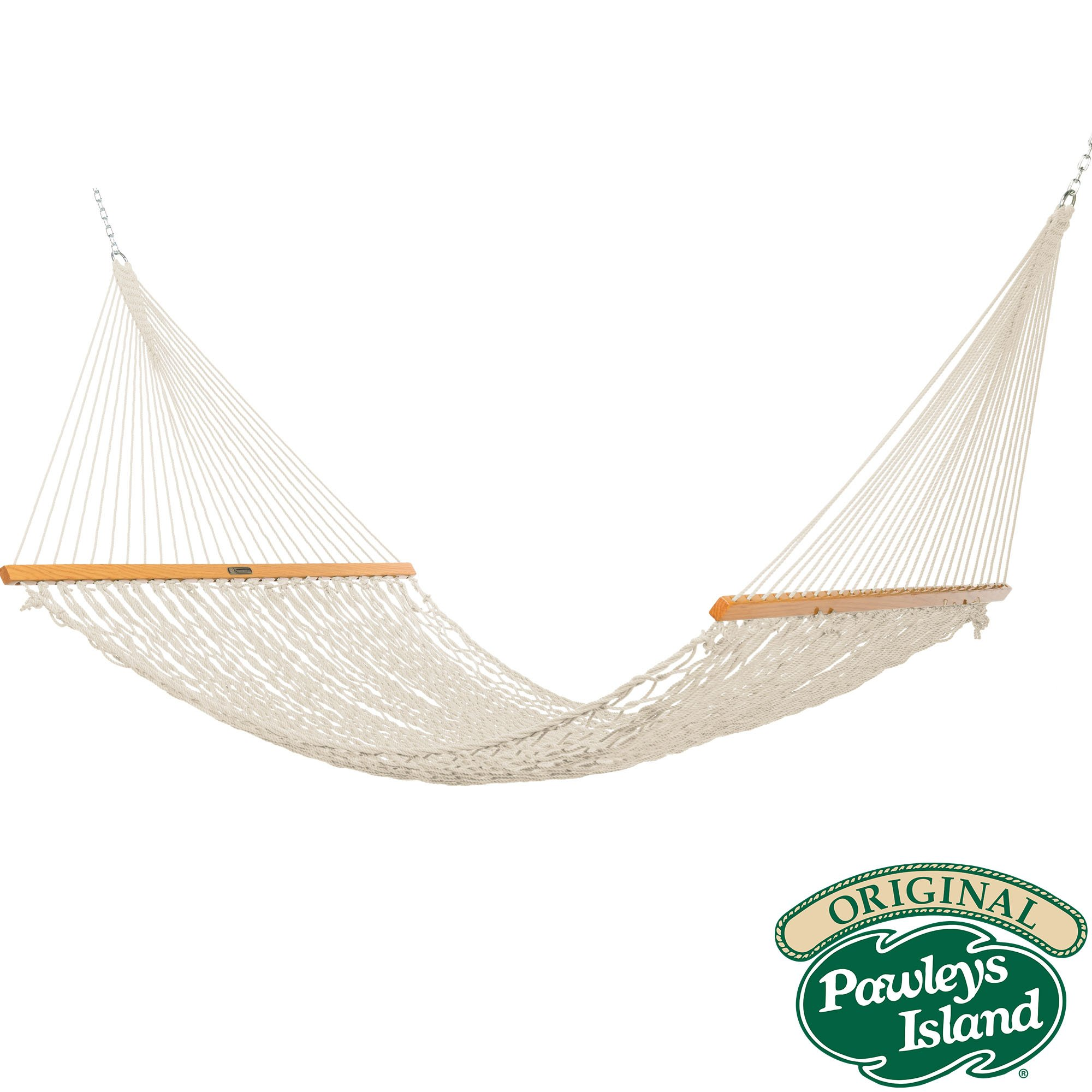 The Original Pawleys Island 15OC Cotton Rope Hammock Presidential Edition