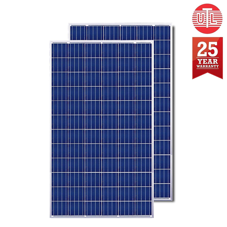 Urbanurja Utl Gamma Mppt Solar Inverter Smart Off Grid Pcu 12v 1000va With 2x 325watts 24v Polycrystalline Panel Ust 1560 150ah C10 Tubular Battery Amazon In Garden Outdoors