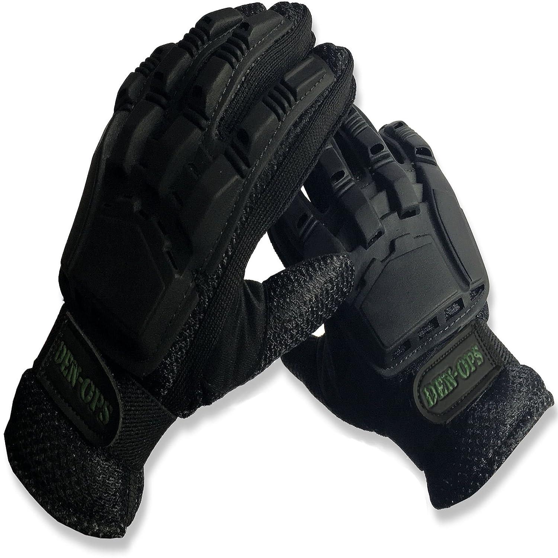 * Venta * Paintball guantes deniable-ops (den-ops) Close Contact blindados con armadura de plástico flexible, Airsoft guantes CKSN Ltd