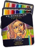 Lápis de Cor Profissional Prismacolor Premier Kit Estojo Metálico 48 cores