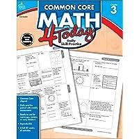 Carson Dellosa | Common Core Math 4 Today Workbook | 3rd Grade, 96pgs (Common Core 4 Today)