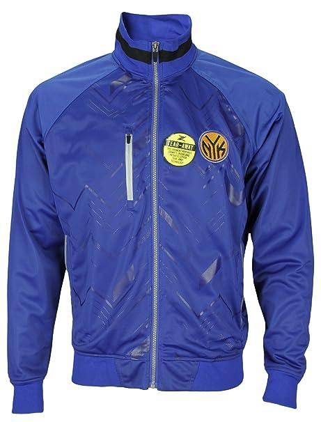 New York Knicks de la NBA para Hombre Zig Zag - Chaqueta, Color Azul - Azul -: Amazon.es: Ropa y accesorios