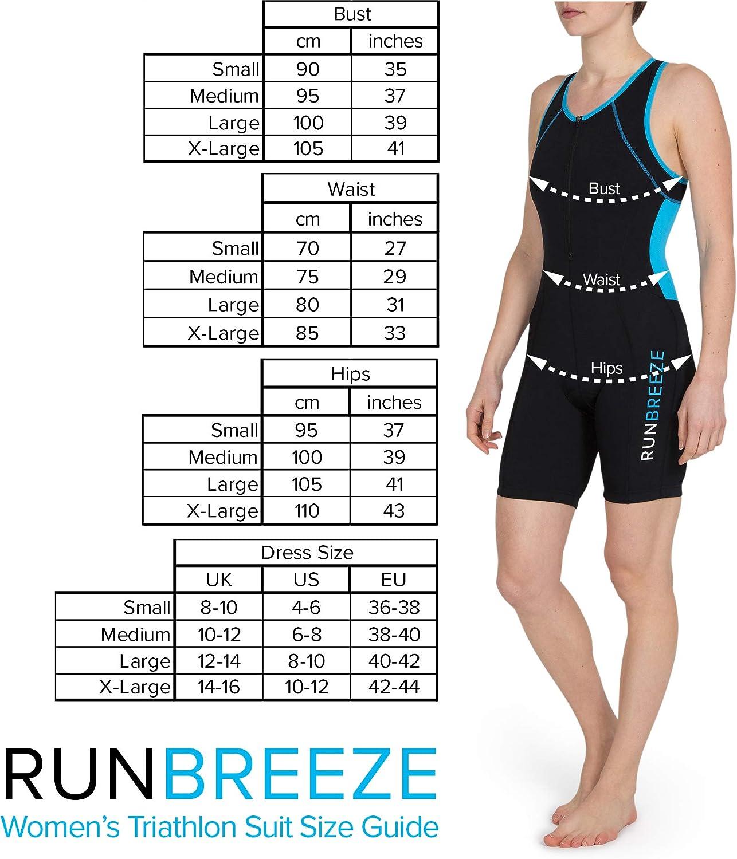 RunBreeze Traje de Triatl/ón para Mujer