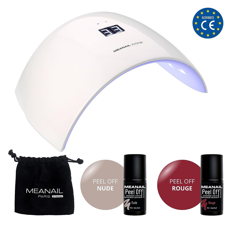 Nagelstudio SET NAGELLACK • Nageldesign • Maniküre Pediküre Kit: UV ...