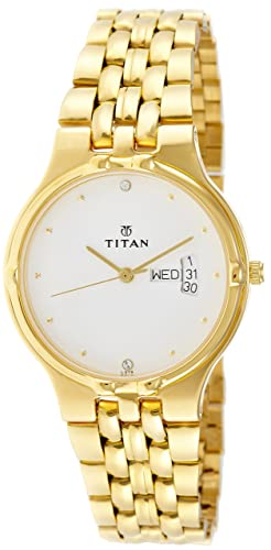 3385ad746a2 Image Unavailable. Image not available for. Colour  Titan Karishma Analog  White Dial Men s Watch ...