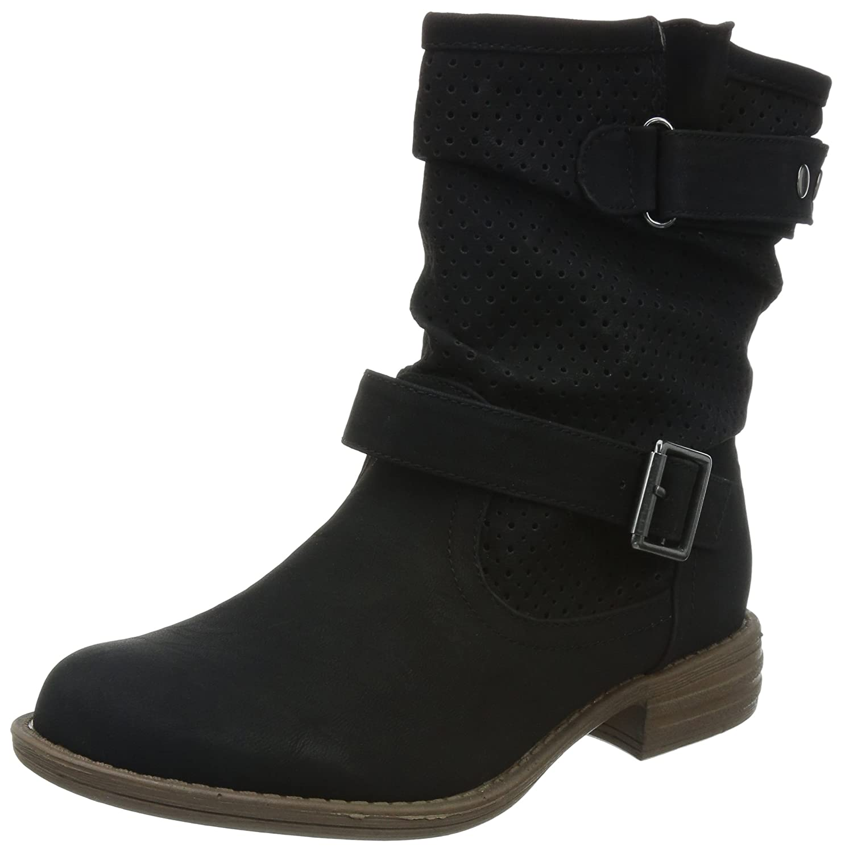 Skechers Mad Dash  Damen Halbschaft Stiefel  36 EU|Schwarz (Blk)