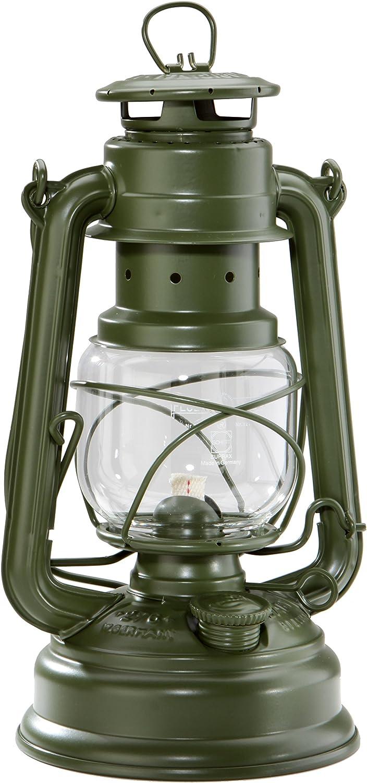 Petroleum Sturmlampe Feuerhand 276 Sturmlaterne Öl Lampe versch Farben