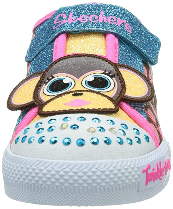 Skechers Girls Shuffles - Critter Buds Low-Top: Amazon.co.uk: Shoes & Bags