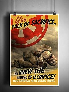Amazoncom Imperial Navy Starfleet Propaganda Star Wars Movie Art