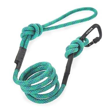 Embark Pets Sierra Leash/Mountain Climbing Rope Leash with Carabiner