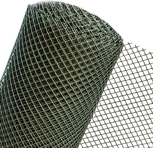 RO15/100HD - Valla de jardín (plástico, 15 mm, 1 m, plástico), color verde oscuro: Amazon.es: Jardín