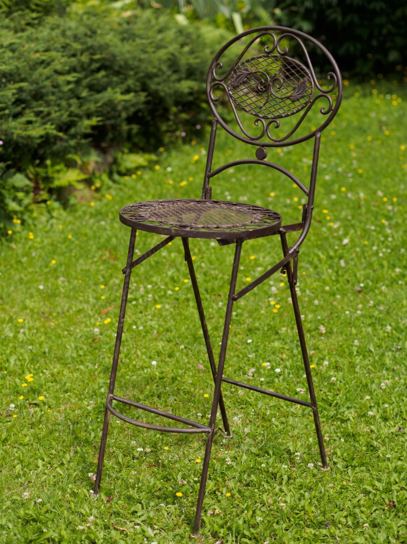 Barhocker Bar Stuhl Gartenstuhl Klappstuhl antik Stil garden chair ...