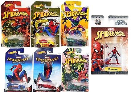 Amazon.com: Hot Wheels Marvel Spider-Man Homecoming Movie ...