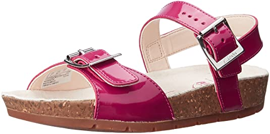 Clarks Girl's Fashion Sandals Girls' Fashion Sandals at amazon