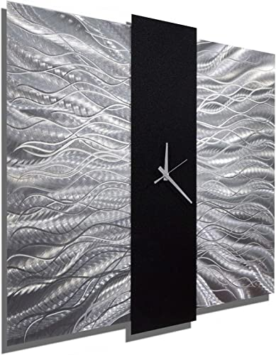 Jon Allen Metal Art Large 24 Inch Decorative Wall Clock