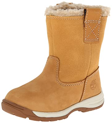 Timberland Timber Tykes Pull On, Boys' Boots, Wheat, 5 UK Child
