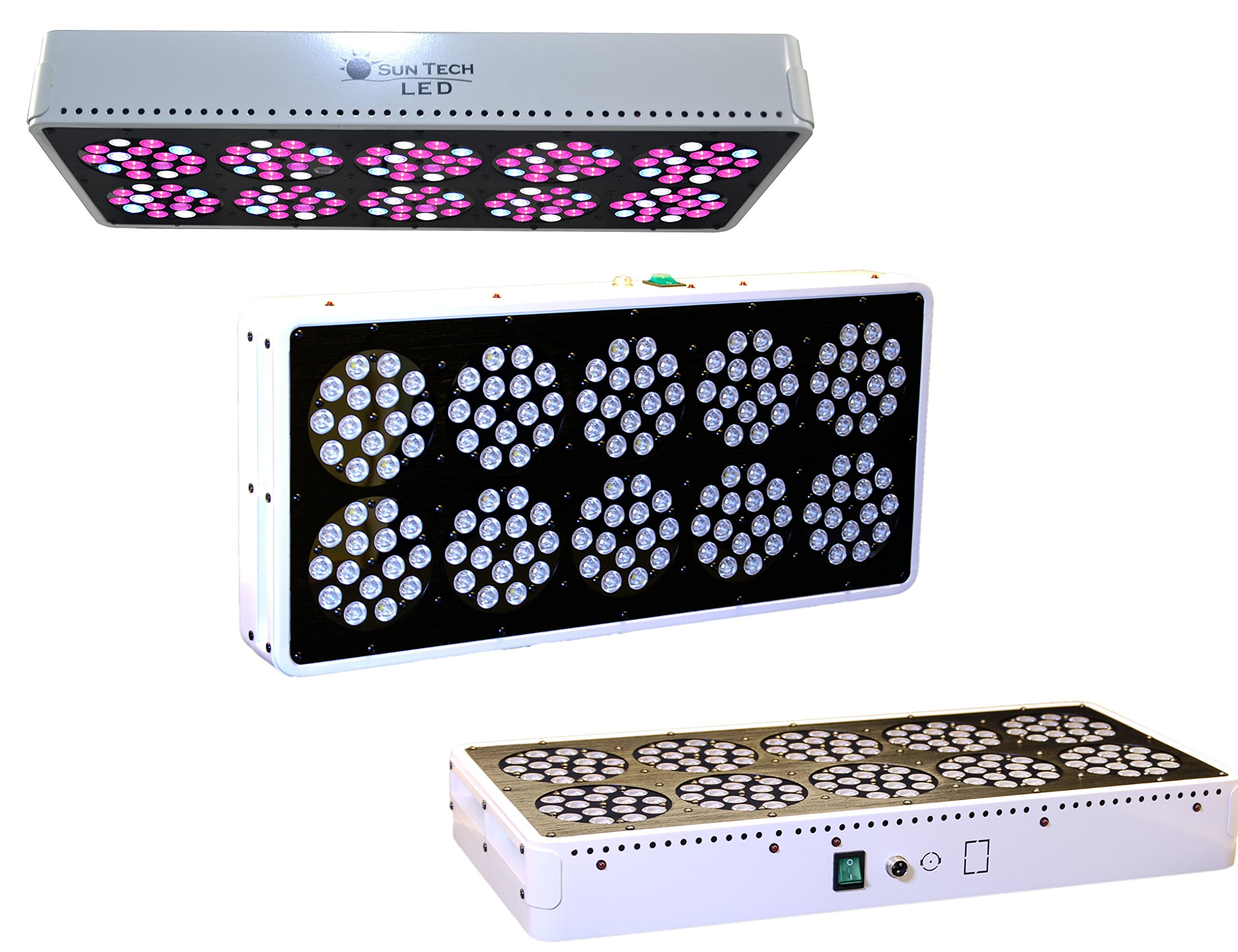 suntech led 360w led grow light with optimal spectrum with infrared ir and ultraviolet